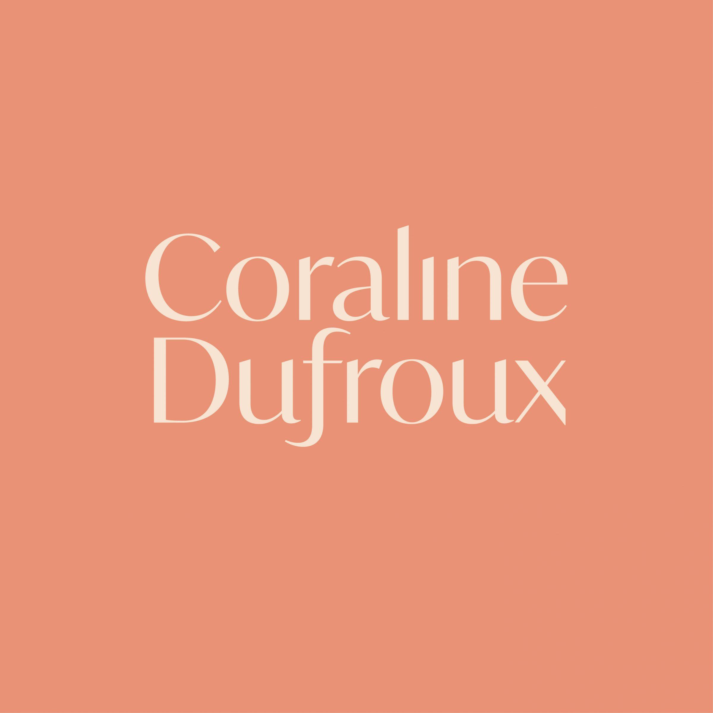 BRANDING LOGO CORALINE DUFROUX