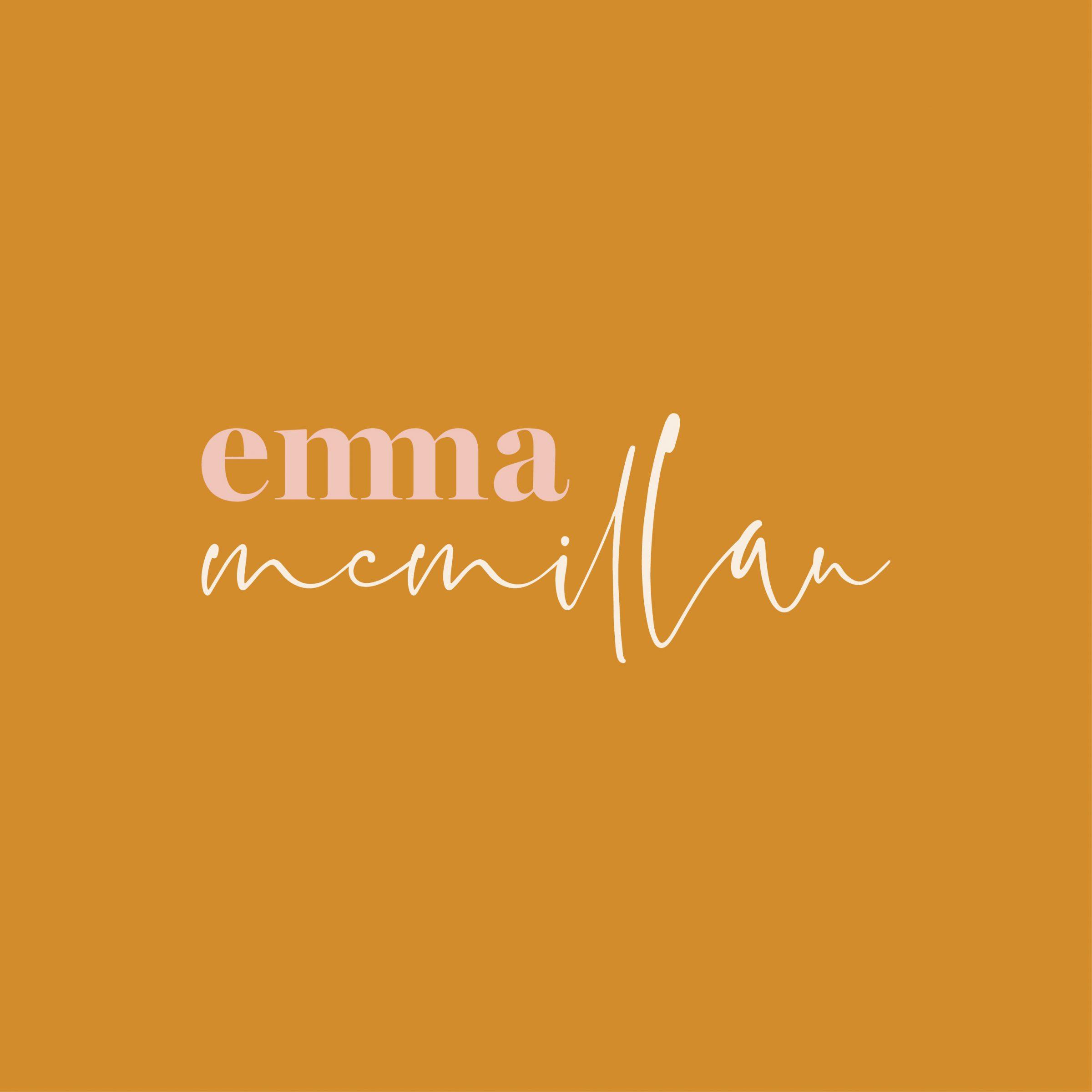 BRANDING LOGO EMMA MCMILLAN